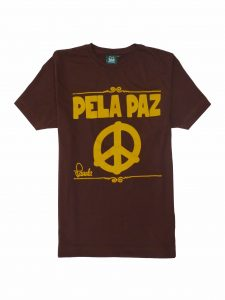 Peace T-Shirt - Cocoa Brown