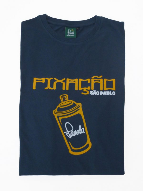 Pixacao Graffiti T-Shirt Folded - Samba Blue